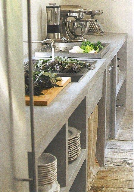 Cocinas Rusticas De Cemento (3)