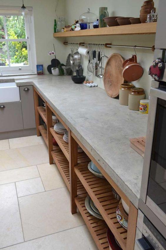 Cocinas Rusticas De Cemento (5)