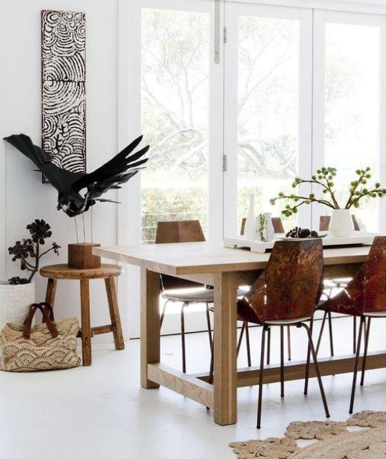 Comedores modernos y elegantes dise os geniales para for Comedores rectangulares modernos