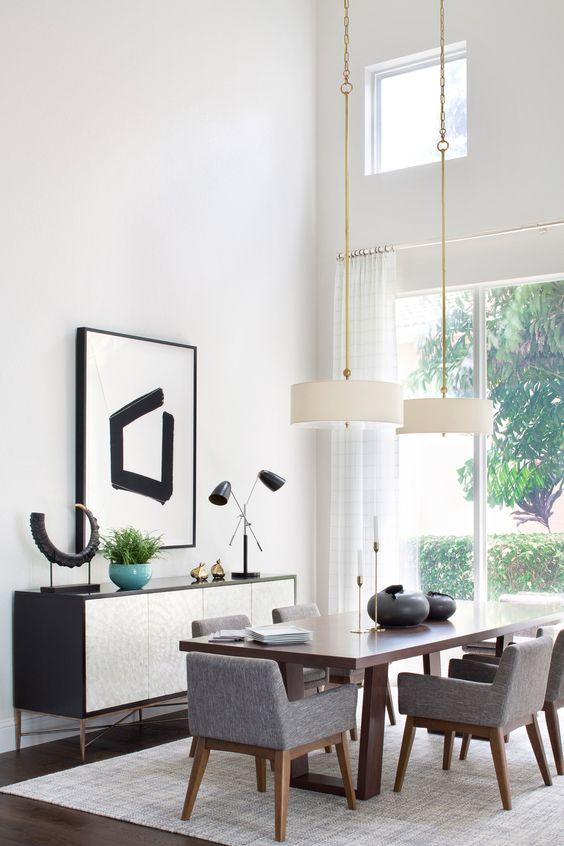 Comedores modernos y elegantes dise os geniales para for Comedores de madera y vidrio