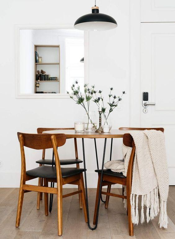 Comedores Modernos y elegantes diseños geniales para decorar tu cocina