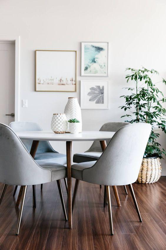 Comedores modernos y elegantes dise os geniales para decorar tu cocina - Fotos de comedores modernos ...