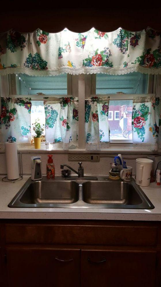 cortina de cocina 2 pisos