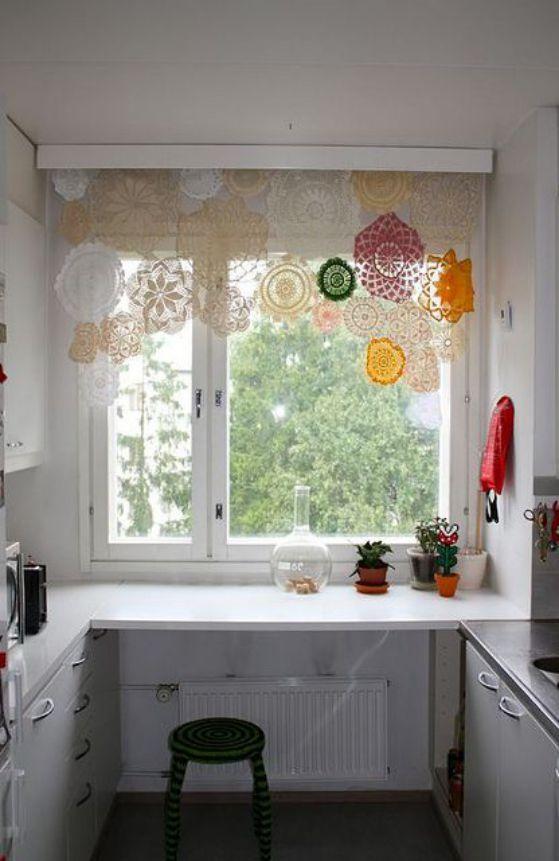 cortina de colores transparente