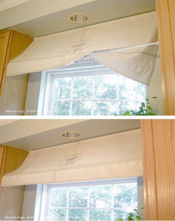 cortina estilo carpa