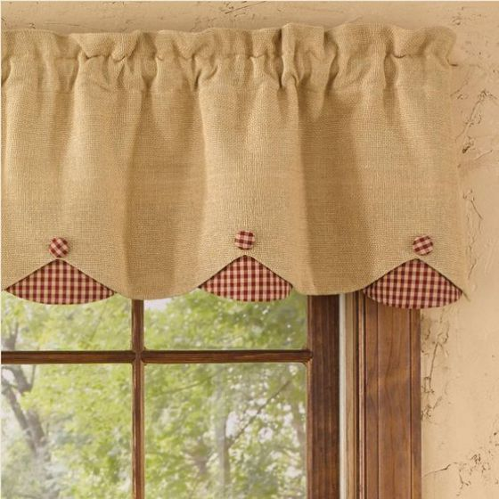 cortina estilo casero