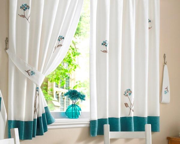cortina para ventana de cocina