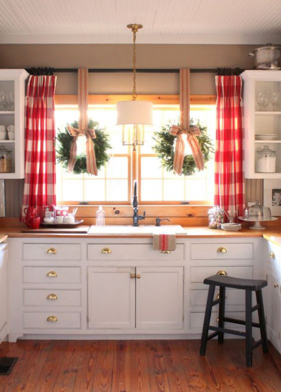Cortinas para cocinas dise os r sticos modernos for Disenos de cortinas para cocinas modernas