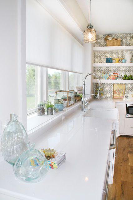 Cortinas para cocinas dise os r sticos modernos for Estilos de cortinas