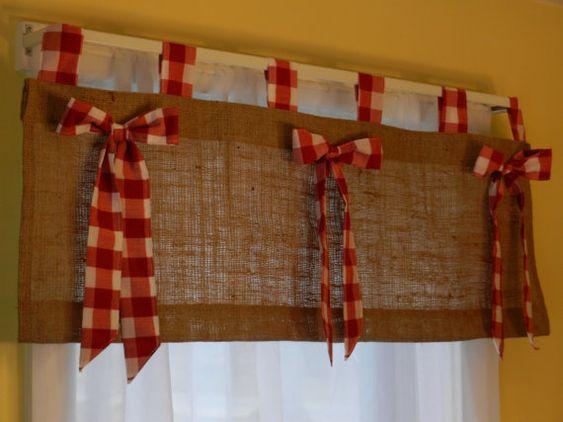 Cortinas para cocinas dise os r sticos modernos for Casa de navidad cocina con sara