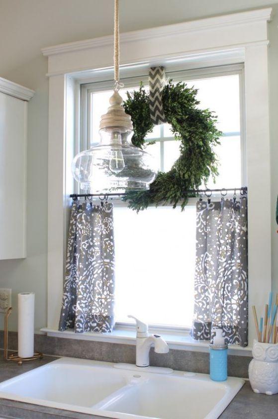 cortinas pequeñas de cocina