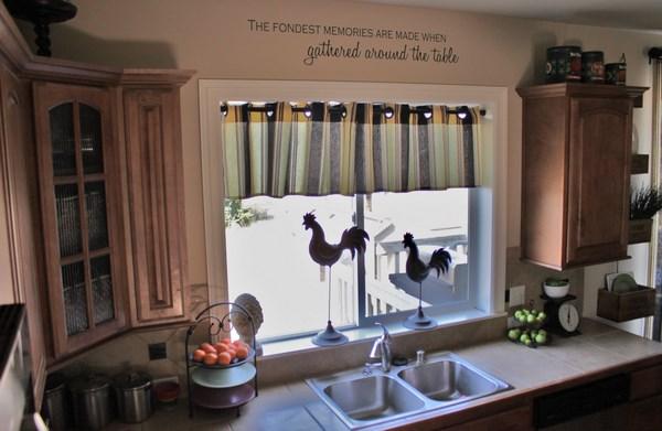 cortinas pequeñas para cocinas pequeñas