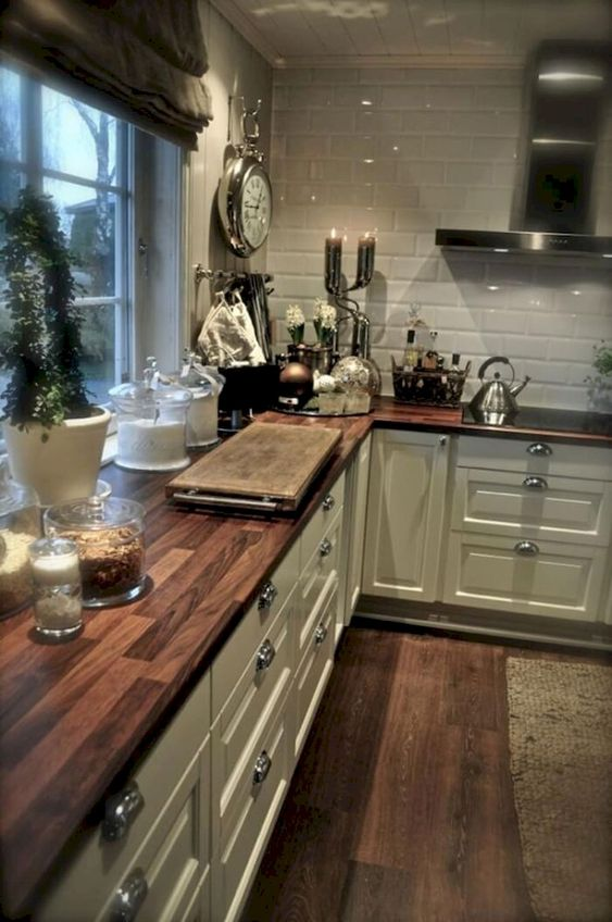 Cortinas Rústicas Para Cocina (5)