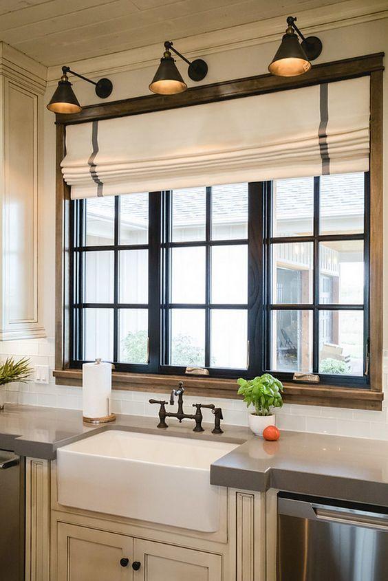 Cortinas para cocinas dise os r sticos modernos for Cocinas sobre diseno