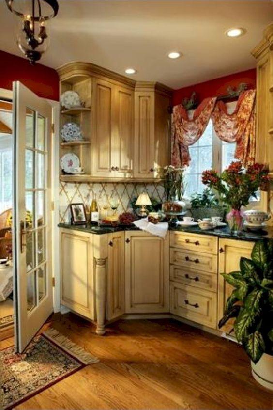 Cortinas para cocinas dise os r sticos modernos navide os y m s - Cortinas para cocina rustica ...