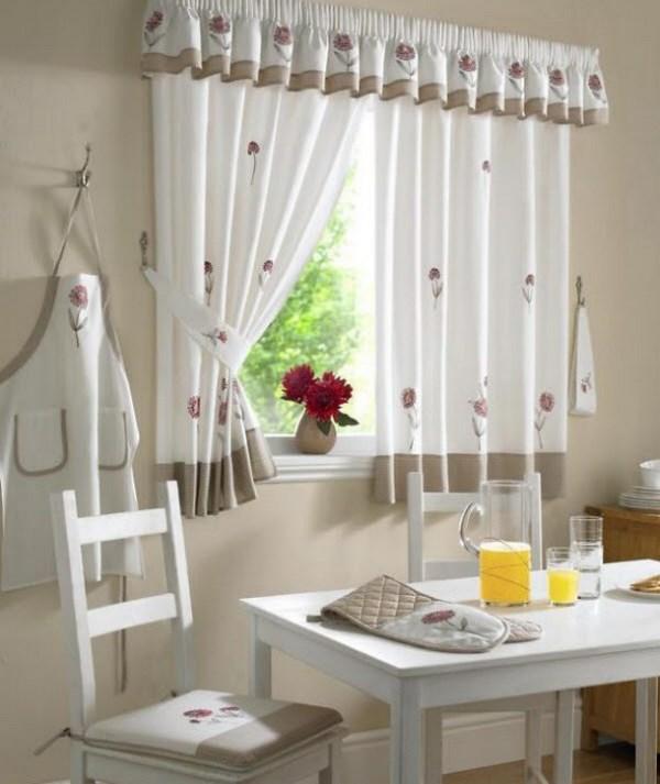 cortinas y cocina