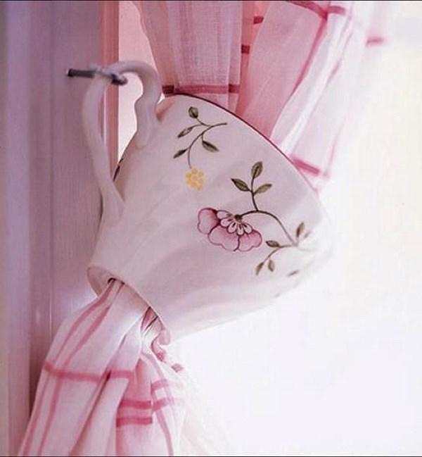 creativas cortinas para cocina