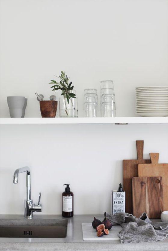 Cocinas minimalistas modernas peque as y grandes estilos 2018 - Cocina minimalista pequena ...