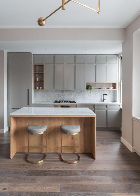 Diseño En Gris Cocinas (2)