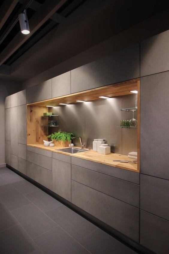 Diseño En Gris Cocinas (3)