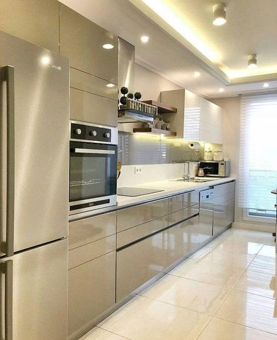 Cocinas minimalistas modernas peque as y grandes estilos 2019 for Diseno de cocinas grandes y modernas