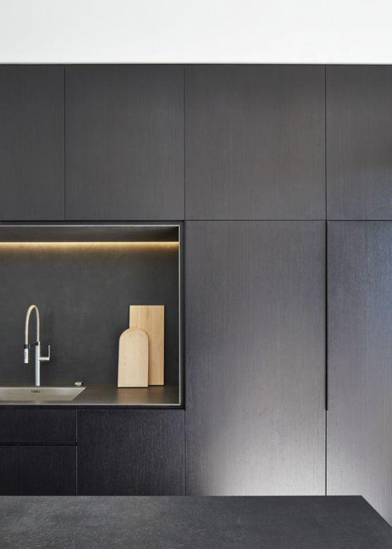 Cocinas minimalistas que harán lucir tu hogar más elegante