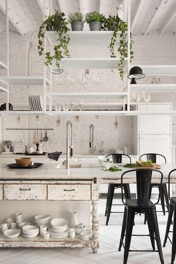 Diseños De Cocinas Blancas (4)