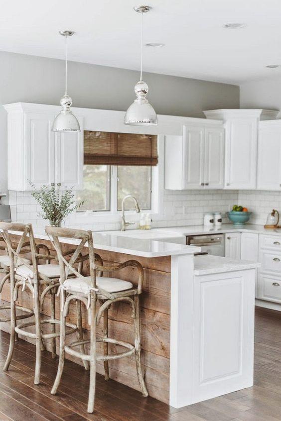 Diseños De Cocinas Blancas (7)