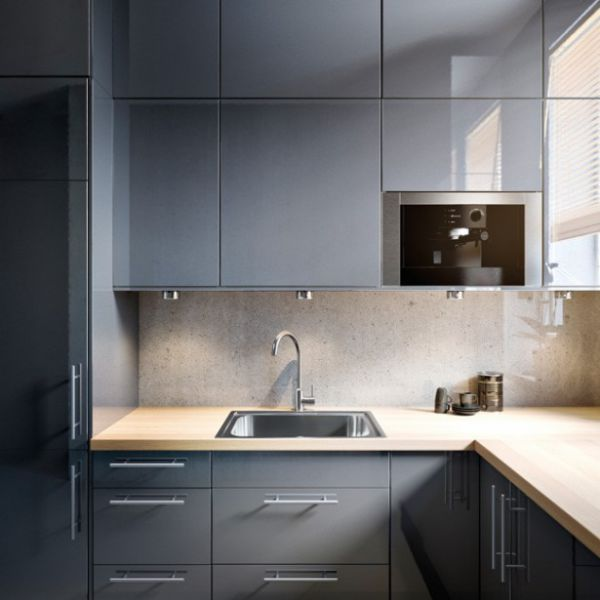 Tipos de gabinetes de cocina que podr s utilizar en tu casa for Gabinetes de cocina de madera modernos