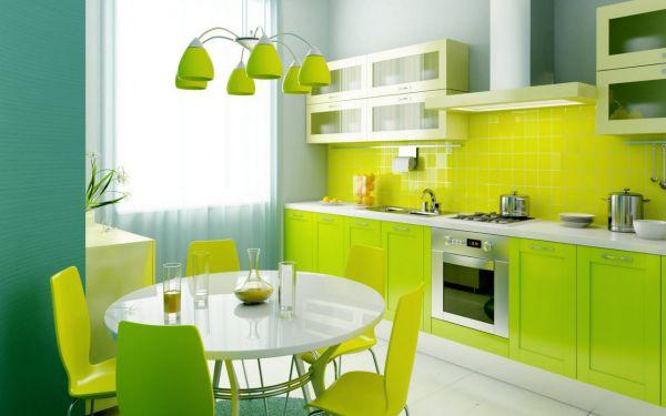 gabinetes modernos de cocina