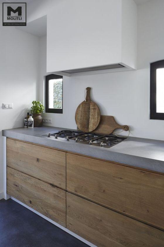 ideas minimalistas para cocina