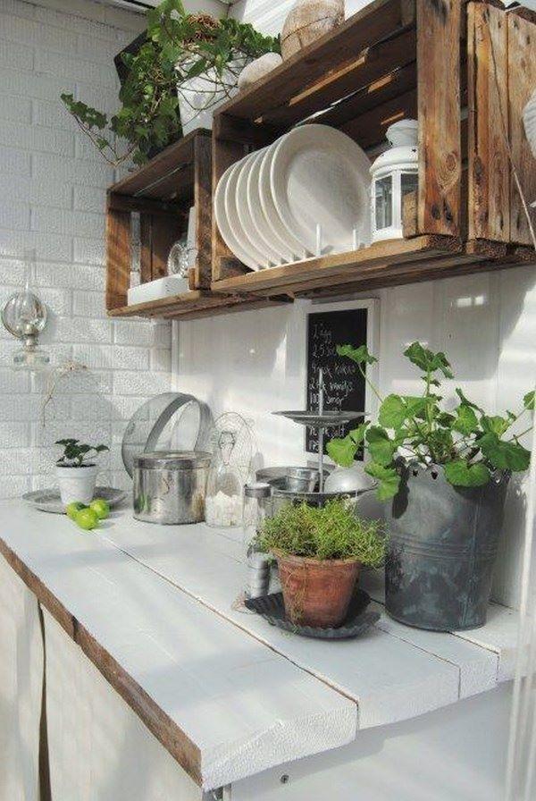 ideas para cocinas rusticas