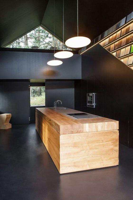 ideas y diseños de cocinas minimalistas