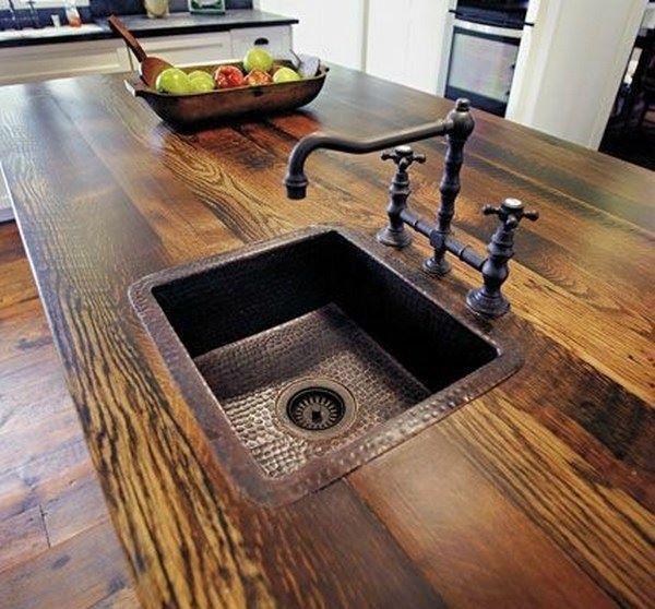 meson para lavado cocina estilo antiguo