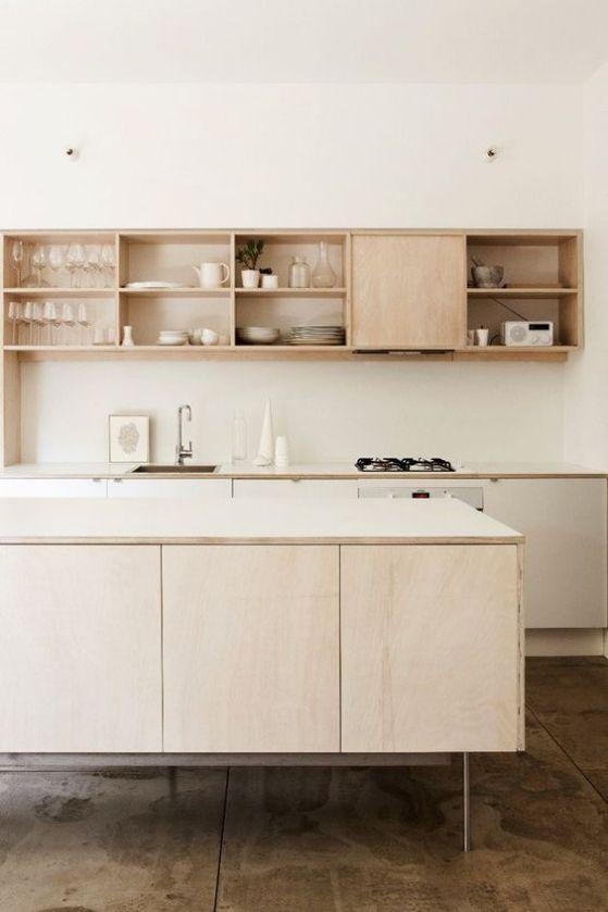minimalismo en la cocina