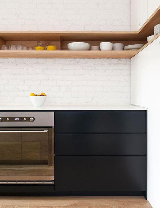 muebles de cocina minimalistas