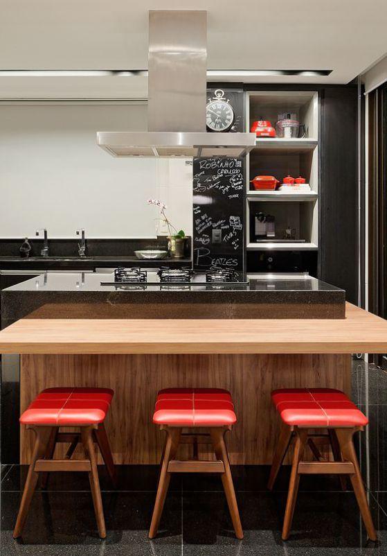 sencilla y elegante cocina minimalista