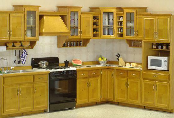 Madera para cocinas panel de puerta de madera puerta del for Muebles cocina madera