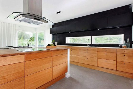 cocina-moderna-con-muebles-de-madera