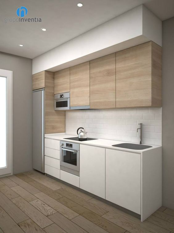 Cocinas de madera dise os r sticos modernos y peque as for Cocinas de madera pequenas