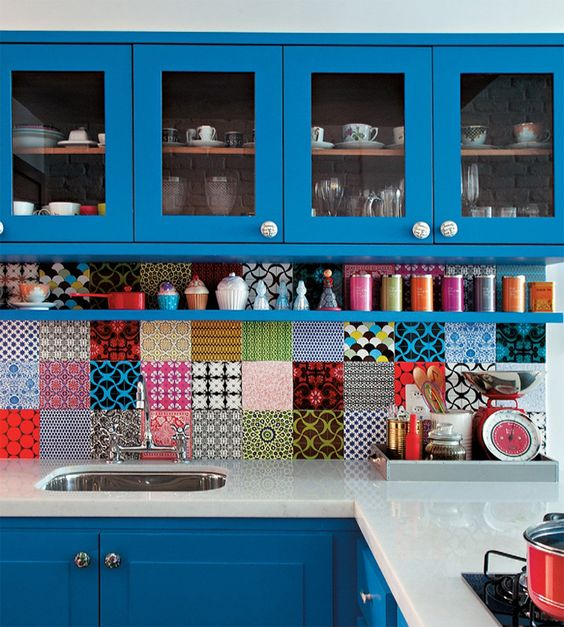 Cocinas Pequeñas A Color (1)