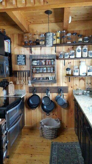 Cocinas De Madera Disenos Rusticos Modernos Y Pequenas