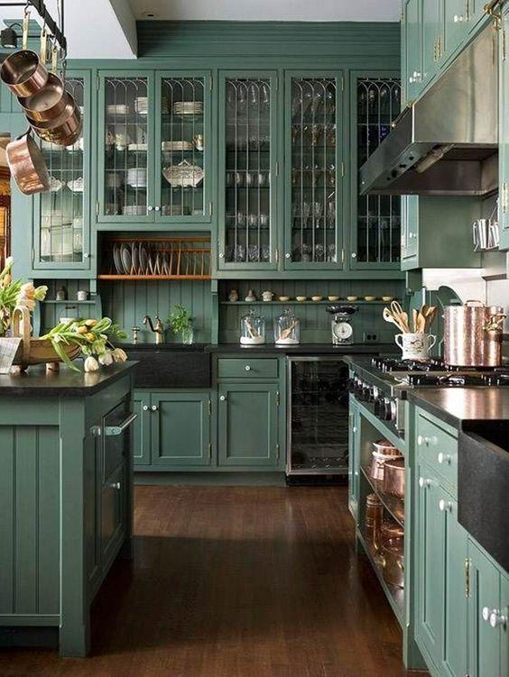 Colores para cocinas las mejores combinaciones para cada estilo - Disenos de cocinas rusticas ...