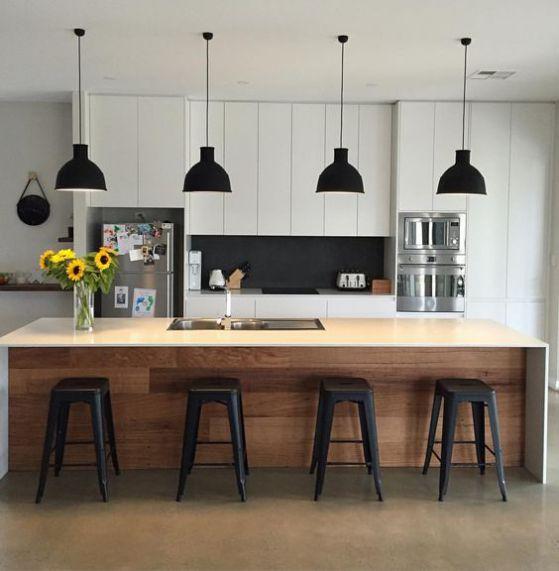 L mparas para cocina que le dar n un toque especial a tu - Iluminacion para cocinas ...