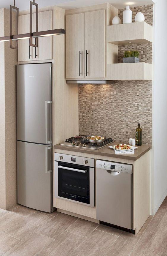 Dise os de cocinas modernas r sticas empotradas - Imagenes de cocinas integrales pequenas modernas ...