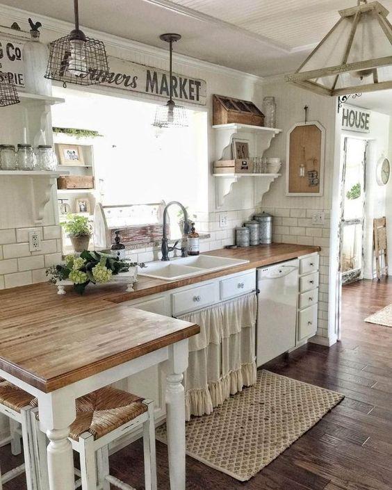 Diseños de Cocinas Modernas -Rústicas -Empotradas ...