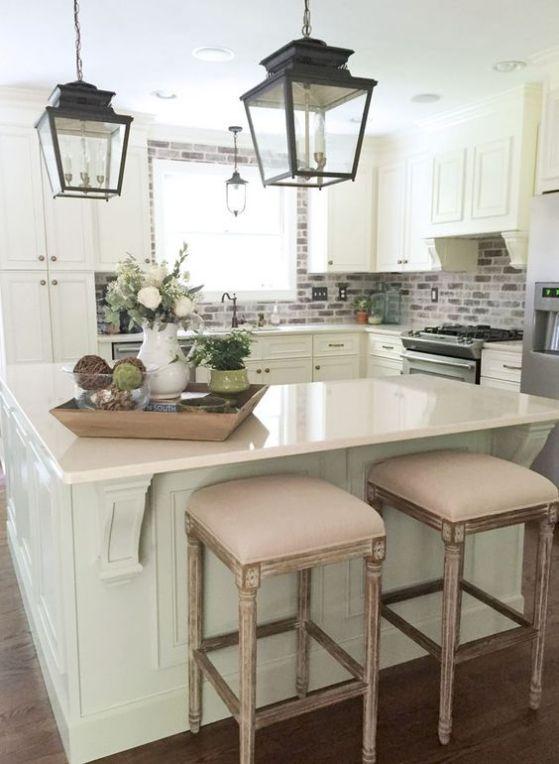 luces con diseño para cocinas