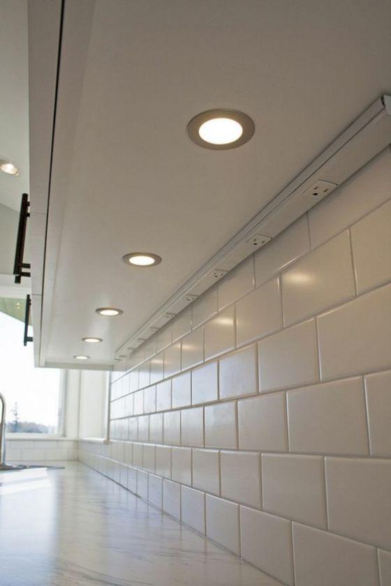 luces integradas en los muebles