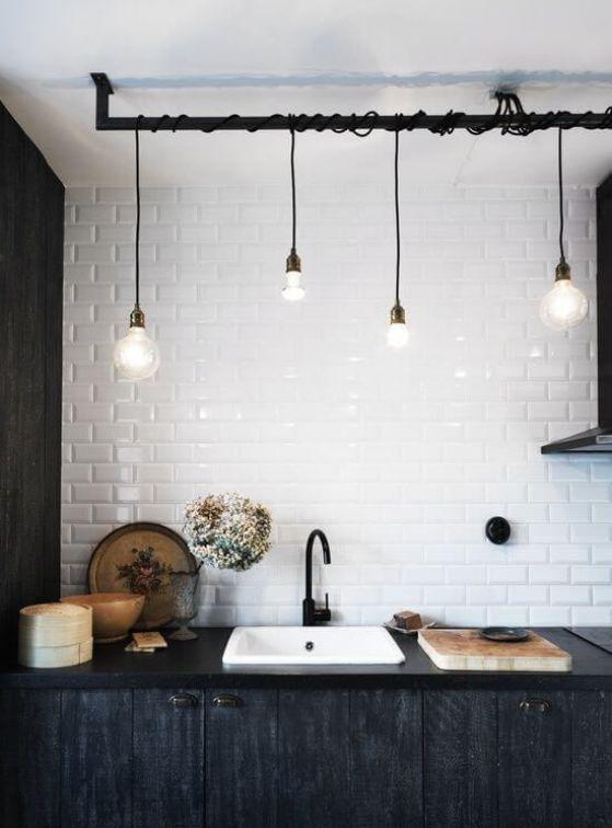 luces para la cocina