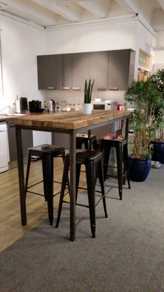 mesa de cocina grande